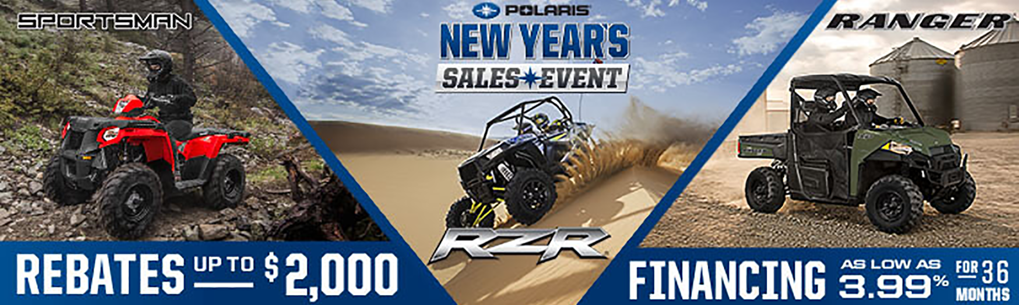 New Years Sales Event
